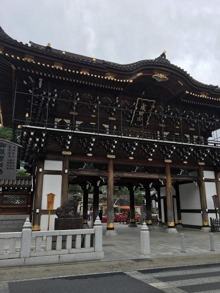 成田山新勝寺 門