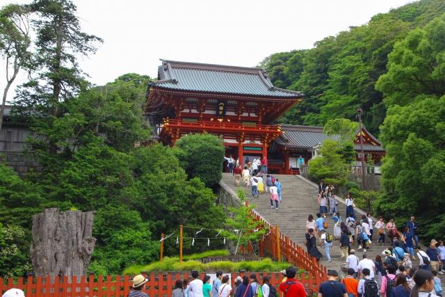 鶴岡八幡宮 社殿